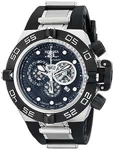 Invicta - 6564 - Montre Homme - Quartz Chronographe - Bracelet Caoutchouc Noir
