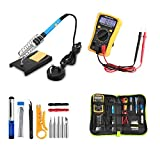 Best Tools & More Soldering Iron Tips - Soldering Iron Kit, HomeYoo 60W Adjustable Temperature Soldering Review