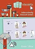 Selbstständig Deutsch lernen ohne Vorkenntnisse - Erste Sätze, 1 CD-ROM (Schullizenz)