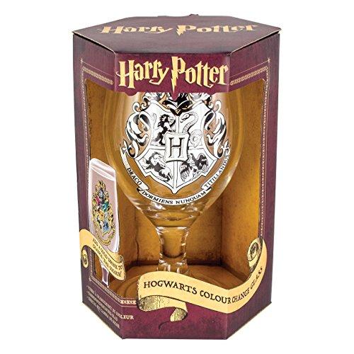 Paladone–Copa de Hogwarts que cambia de color, multicolor