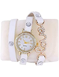Krupa Enterprise White Dial Analog Watch For Women And Girls