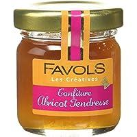 FAVOLS Confiture Abricot Tendresse 42 g - Lot de 10