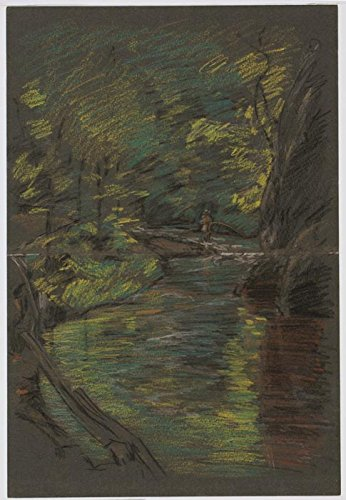 Das Museum Outlet - Connecticut Forelle Stream, 1903 - A3 Poster
