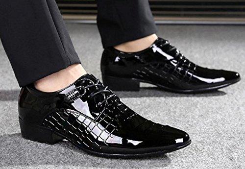 Scarpe 43 Abito Scarpe Banchetto Oxford NSPX 2090 3373BLACK Abbigliamento Uomo in Tatuaggio black Scarpe Da Sposa 42 Cuoio Pochette Pizzo pq6ZwPq