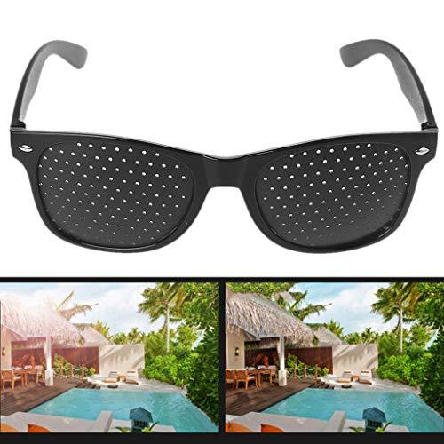 Weishazi Vision Care Korrektive Verbesserung der Pinhole Kleine Anti-Müdigkeit Augenschutzbrille