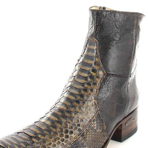 Sendra Boots  5701P, Chaussures bateau pour homme Marron - Piton Fantasia Quercia
