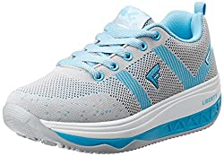 Force 10 (from Liberty) Womens Blue Running Shoes - 5 UK/India (38 EU)
