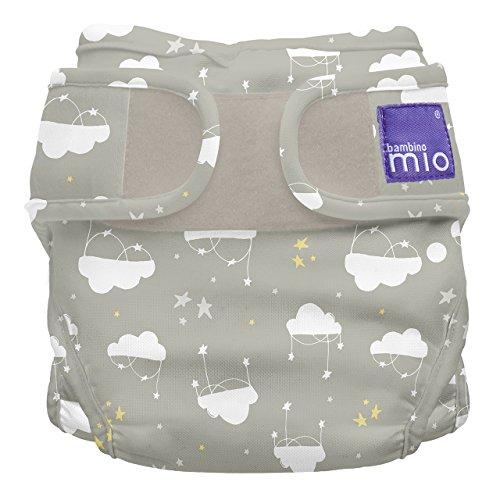 Bambino Mio, miosoft windelüberhose, wolke sieben, Größe 1 (<9kg) -