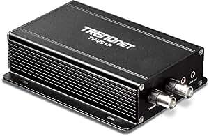 TRENDnet - Encodeur Vidéo Simple Canal POE Analogique vers IP, TV-VS1P