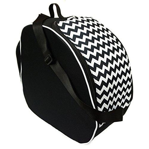 Ferocity Premium Skischuhtasche Helmtasche Skistiefeltasche Zig Zag [054]