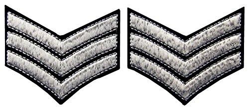 militr-uniform-chevrons-sergeant-stripes-armee-embroidered-waffen-emblem-eisen-auf-nhen-auf-schulter