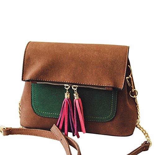 spring Lady bag/ sac à bandoulière gland coréenne/Mode couleur tendance en bandoulière sacs-A A