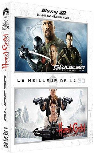 Le Meilleur de la 3D: G.I. Joe 2 : Conspiration + Hansel & Gretel : Witch Hunters [Combo Blu-ray 3D + Blu-ray + DVD]