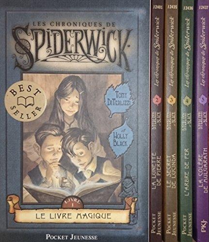 Les Chroniques De Spiderwick En 5 Tomes. 1: Le Livre Magique 2: La Lunette De Pierre 3: Le Secret De Lucinda 4: L'arbre De Fer 5: La Colère De Mulgarath