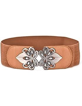 Cinturón Elástico Del Arco/Vestido Cinturón Decorativo/Versión Coreana De Cinturón De Moda Salvaje