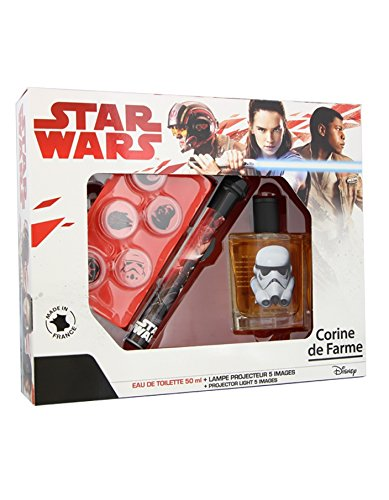 CORINE DE FARME Coffret Star Wars + Lampe Projecteur