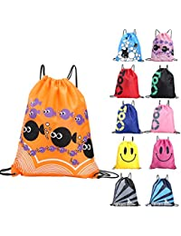 Rvs Swimming Bags Double Layer Drawstring Backpacks Shoulder Bag Travel Portable Fold Mini Shoulder Bags