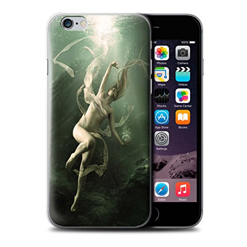 Officiel Elena Dudina Coque / Etui pour Apple iPhone 6 / Sonrisas/Dauphin Design / Agua de Vida Collection Sous-Marin