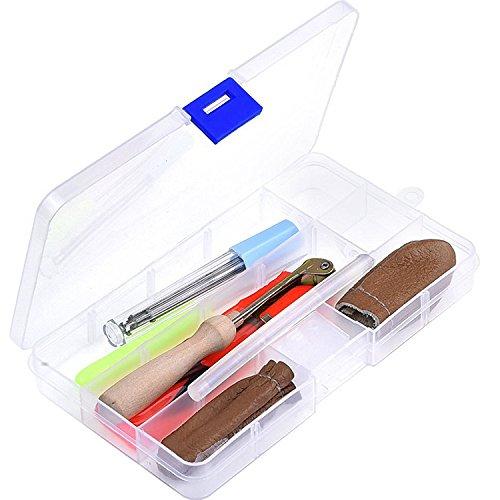 Nadel Filzen Starter Satz Nadelfilze Craft Kit Filznadeln Scissor Klebestift Ahle für DIY Kunst und Handwerk Herstellung