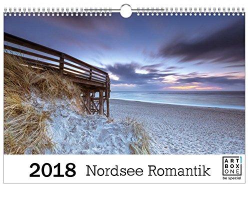 artboxONE Kalender 2018 Nordsee Romantik Wandkalender A3 Natur, Reise