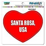 Graphics and More Mag-Neato 's-TM Auto Kühlschrank Vinyl Magnet I love Herz City Land S, Santa Rosa USA