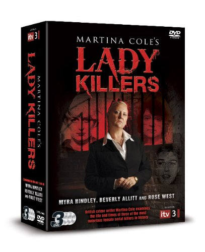 Martina Cole's Lady Killers: Allitt, Hindley And West [DVD] [UK Import]