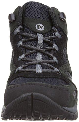Merrell Azura Mid Gtx, Chaussures de randonnée tige basse femme Noir (Black Black)