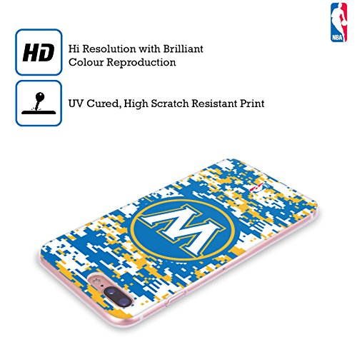 Ufficiale NBA Icona Oversize Golden State Warriors Cover Morbida In Gel Per Apple iPhone 6 / 6s Camouflage Digitale