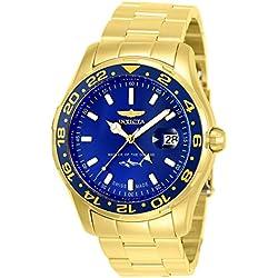 Invicta 25823 Pro Diver Reloj para Hombre acero inoxidable Cuarzo Esfera azul