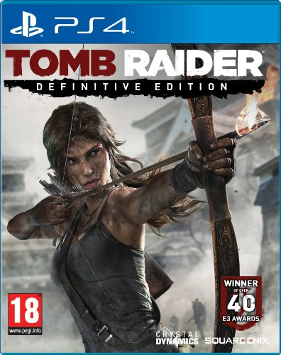 tomb raider definitive edition sony playstation 4 ps4 game uk