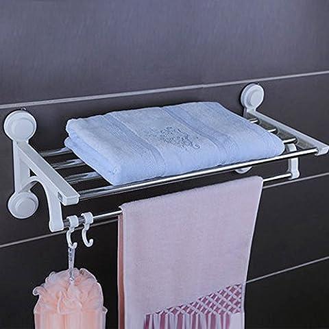 SJMM Doppelzimmer mit Bad Handtuchhalter aus der Stanze starken Sog
