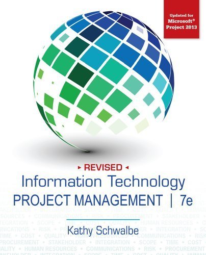Information Technology Project Management, Revised 7th by Schwalbe, Kathy (2013) Paperback