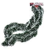 CANISI Tannengirlande Girlande Weihnachten Tannenbaum 180cm Tanne weiß Künstlich