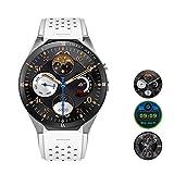 Teepao KW88 3G Smartwatch, Bluetooth, Smartwatch, Android 7.1, SIM-Karte mit GPS, Kamera, Herzfrequenzmesser weiß