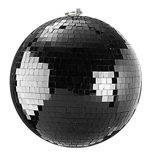 Bola de espejos 20cm negro//bola de discoteca–mirror ball 20cm black