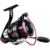 KastKing Sharky II Fishing Reel - Smooth Spinning Reel - 48.5 Lb Carbon Fiber Max Drag - 10+1 Superior Ball Bearings-Brass Gears - Top Quality at An Affordable Price!