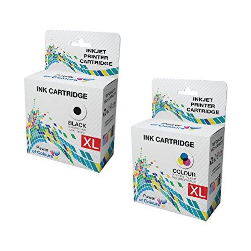 2 x Tintenpatronen, kompatibel PG-540XL CL-541XL Tintenpatronen für Canon Pixma MG2100, MG2150 2-Pack Multipack