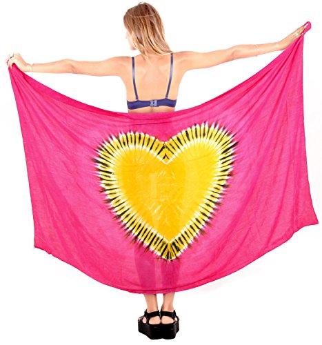 La Leela Beachwear Wrap Pareo Bathing Suit Skirt Cover up Swimwear Womens Sarong Pool Wear Swimsuit Resort Wear