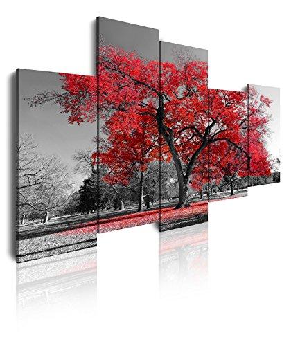 Dekoarte 16 - Cuadro moderno lienzo 5 piezas paisaje