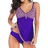 NPRADLA Damen Mädchen Bikini Print Einteiliger Badeanzug