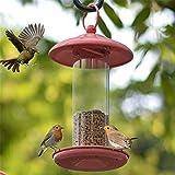 Vogelfütterer Gazebo Wild Bird Feeder Wasserdicht Im Freien Hängend Perfekt Für Garten Dekoration und Vogelbeobachtung Für Vogelliebhaber