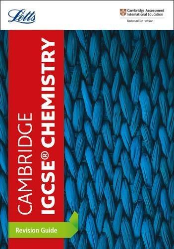 Cambridge IGCSE® Chemistry Revision Guide (Letts IGCSE Revision Success)