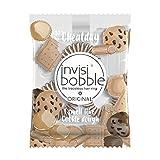 invisibobble ORIGINAL Cookie Dough Craving - Neue Spiralhaargummis mit Cookie-Duft, Cheat Day, Süßigkeit, limitiert, 3 Stück