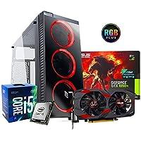 Pc desktop gaming completo Intel i5 7400 3.5ghz / Asus Gtx 1050 Cerberus Gaming 4gb Ddr5/ Ram Ddr4 8gb/ Ssd 120gb + Hdd 1tb / Wifi - Windows 10/ Computer da gaming assemblato/Pc gaming i5
