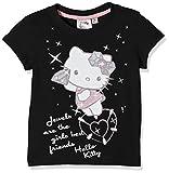 Hello Kitty Mädchen T-Shirt Gr. 14 Jahre, Schwarz (Black)