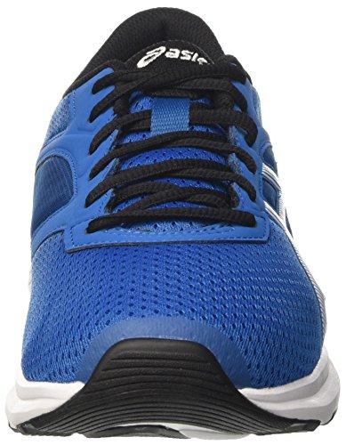 Asics Fuzor, Chaussures de Tennis Homme Bleu (Thunder Blue/white/black)