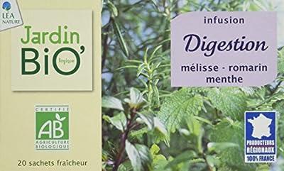 Jardin Bio Infusion Digestion 30 g - Lot de 4