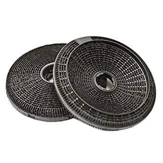 Teka de carbón filtro para campana extractora de 2 unidades