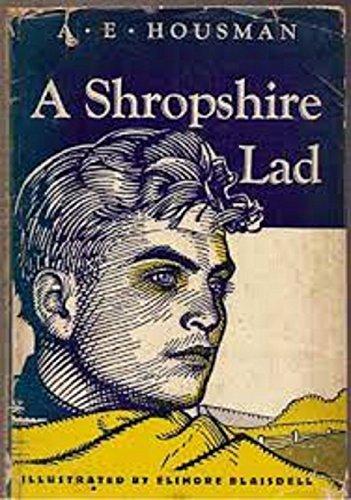 A Shropshire Lad EBook Alfred Edward Housman Amazoncouk Kindle