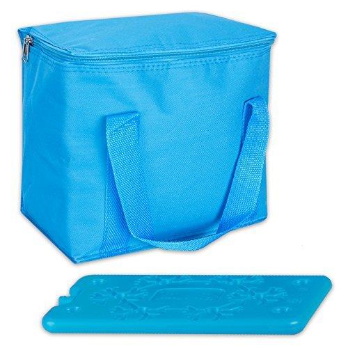 7 Liter Kühltasche Thermotasche Kühlbox Cool Butler inklusive 1 Kühlakku & 1 flexibler Kühlbeutel in 3 Farben (blau)